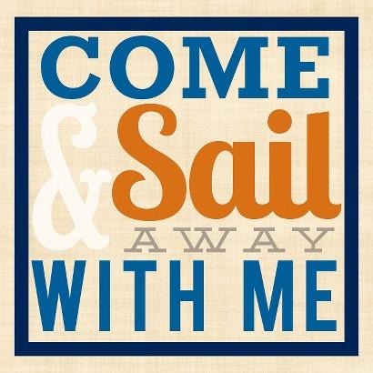 Birch Flushmount - Come Sail