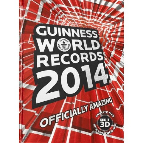 Guinness World Records 2014 by Guinness World Records (Hardcover)