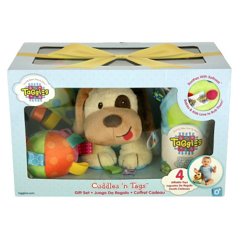 Taggies™ 4-Piece Cuddles 'n Tags Holiday Gift Set - Assorted