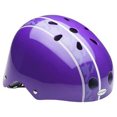 Schwinn Pattern Helmet- Purple