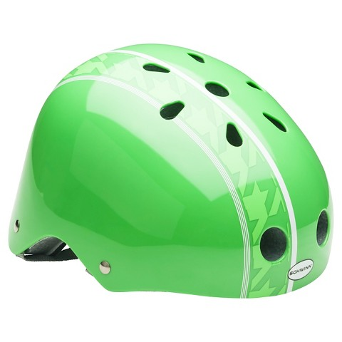 Schwinn Pattern Helmet- Green