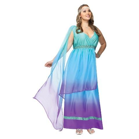 Women's Sea Queen Costume - Plus Size
