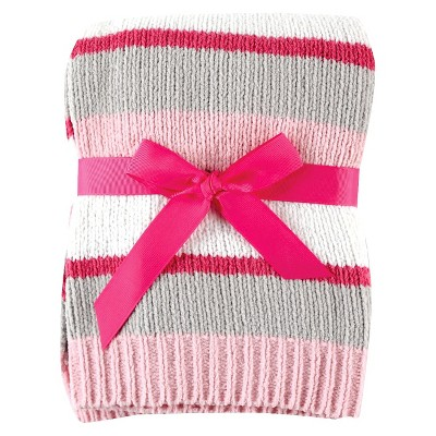 Baby Blanket Hudson Baby Petal Pink