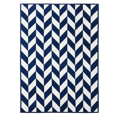 Kensington Rug - Blue/White (7'x10')