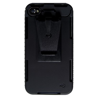 Connect Case Cell Phone Case for iPhone®4/4S - Black (CNT-IP4-01SC)