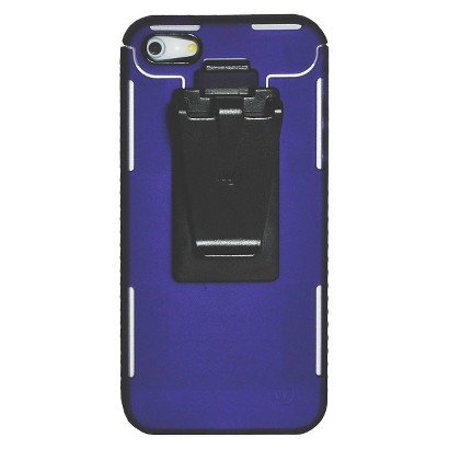 Connect Case Cell Phone Case for iPhone®5 - Purple (CNT-IP5-23)