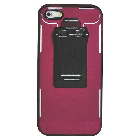 Connect Case Cell Phone Case for iPhone®5 - Cranberry (CNT-IP5-20)