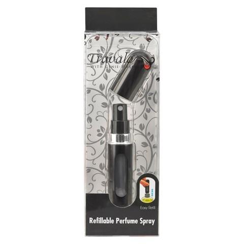 Travalo Refillable Perfume Spray - Jet Black