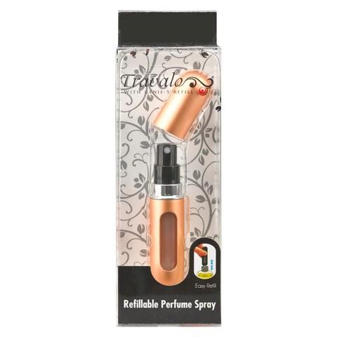 Travalo Refillable Perfume Spray - Bold Gold