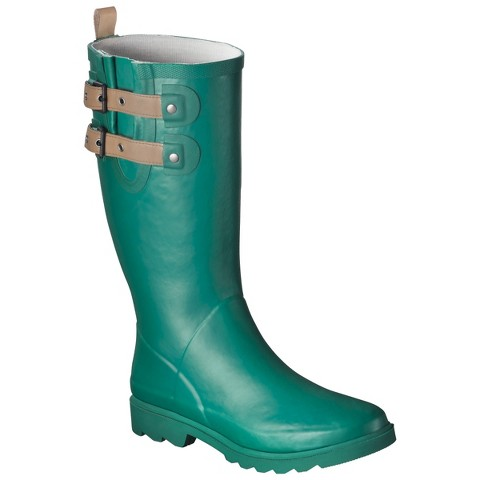Luxury Tommy Hilfiger Womens Coree Tall Rain Boots In Green Olive