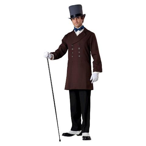 Men's Victorian Gentleman Adult Costume