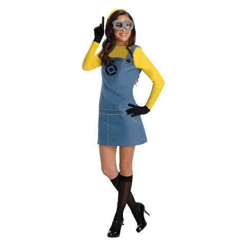 Women's Despicable Me 2 Lady Minion Costume