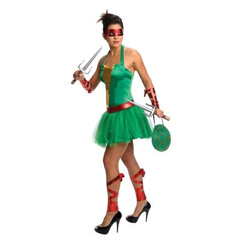 Women's Teenage Mutant Ninja Turtles Raphael Dress Costume