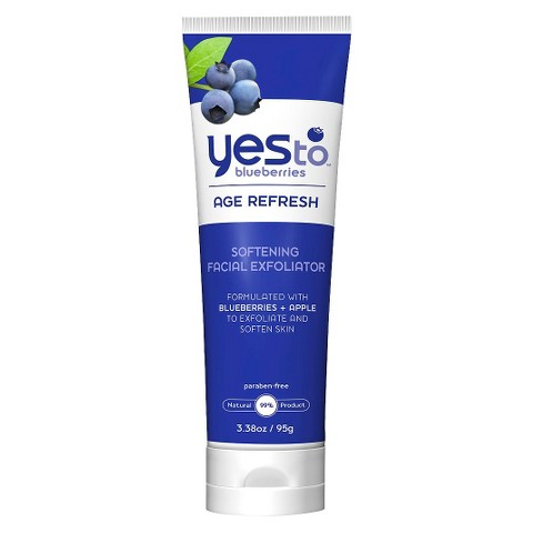 Yes To Blueberries Softening Facial Exfoliator - 3.38 oz