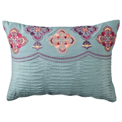Boho Boutique® Lola Embroidered Decorative Pillow
