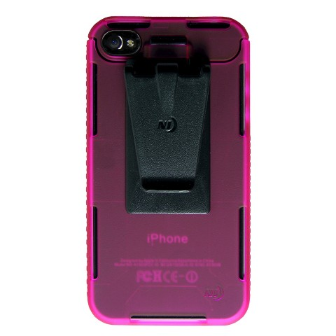 Connect Case Cell Phone Case for iPhone4/4S - Pink (CNT-IP4-12TC)