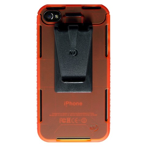 Connect Case Cell Phone Case for iPhone4/4S - Orange (CNT-IP4-19TC)
