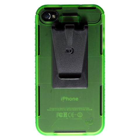 Connect Case Cell Phone Case for iPhone4/4S - Lime (CNT-IP4-17TC)