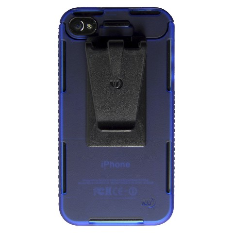Connect Case Cell Phone Case for iPhone4/4S - Blue (CNT-IP4-03TC)