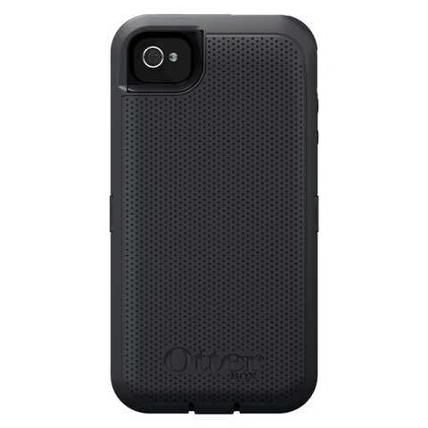 Otterbox Defender iON Cell Phone Case for iPhone4/4S - Graphite (77-25819P1)