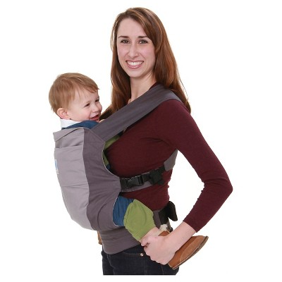 Moby Go by Moby Wrap Baby Carrier - Gray
