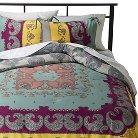 Lola Reversible Comforter Set Full/Queen Multicolor - Boho Boutique™