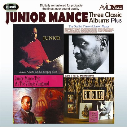 Three Classic Albums Plus: Junior/The Soulful Piano of Junior Mance/At the Village Vang