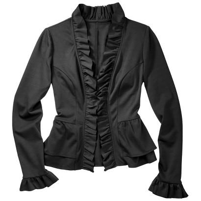 Merona® Petites Long-Sleeve Ponte Blazer - Assorted Colors