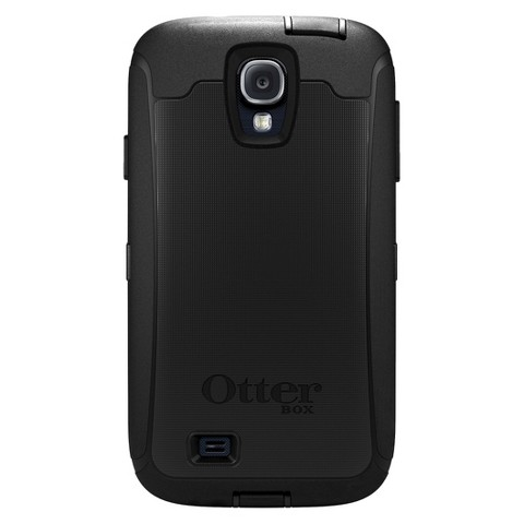 Otterbox Defender Cell Phone Case for Samsung Galaxy S4 - Black (OB SGS4DEF)