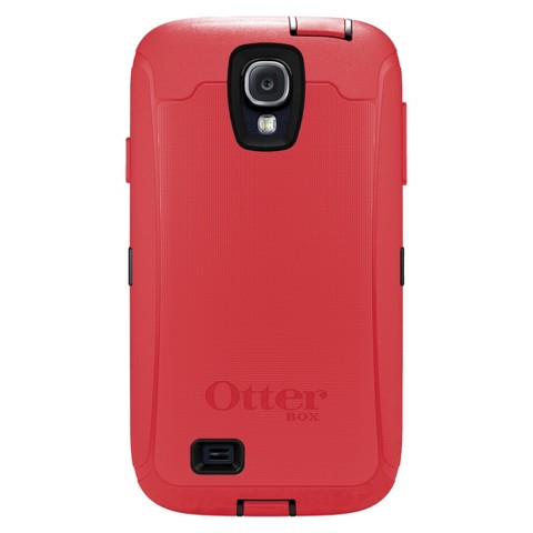Otterbox Defender Cell Phone Case for Samsung Galaxy S4 - Raspberry (OB SGS4DEF)