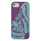 BioCase Butterfly Cell Phone Case for iPhone®5 - Purple (BIO-IP5-23G1)
