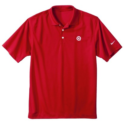 Men's Nike Golf Red Dri-Fit Polo
