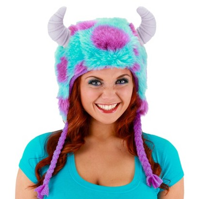 Image of Adult's Monsters University Sulley Deluxe Adult Hoodie