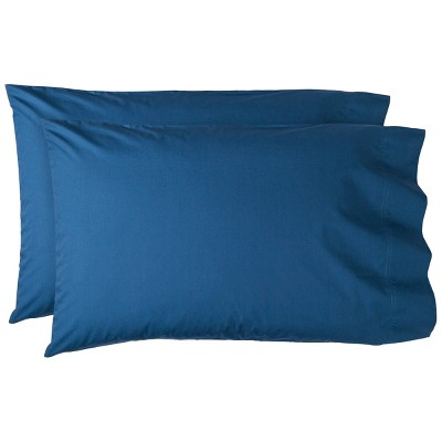 Threshold™ Percale Pillowcase Set - Sandoval Blue (King)