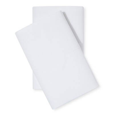 Threshold™ Percale Pillowcase Set - True White (King)