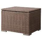 Heatherstone Wicker Patio Sectional Storage Ottoman - Threshold™