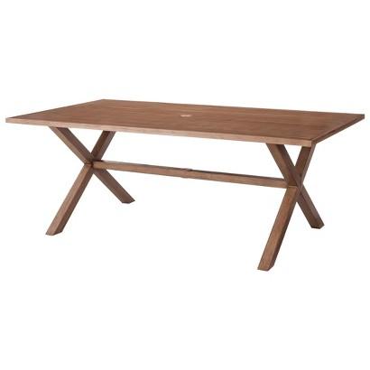 Outdoor Patio Furniture: Threshold Aluminum Rectangular Table, Holden