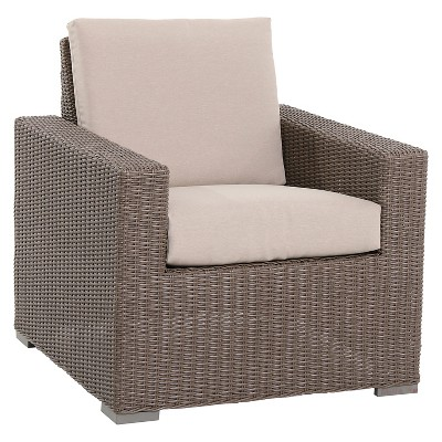 Threshold™ Heatherstone Wicker Club Chair - Tan