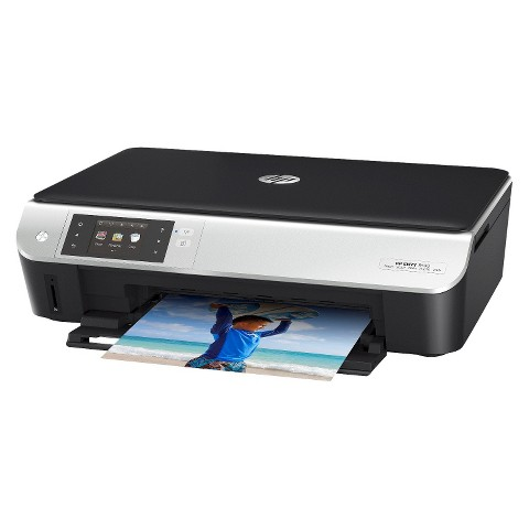 HP Envy 5530 e-All-in-One Color Multifunction Inkjet Printer - Black/Silver (A9J40A#B1H)