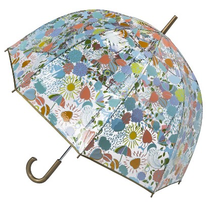 Totes Novelty Bubble Umbrella - Light Grey