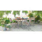 Threshold™ Bryant 5-Piece Sling Stowable Folding Patio Dining Furniture Set
