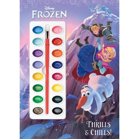 Thrills & Chills! (Disney Frozen) (Paperback)