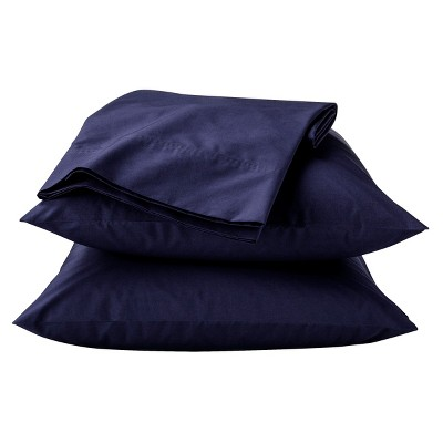 Threshold™ Percale Sheet Set - Xavier Navy (Queen)