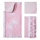 Castle Hill Pink Ruche Baby Collection