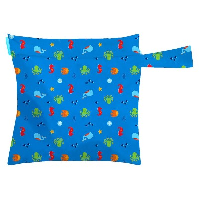 Charlie Banana Diaper Tote Bag - Under The Sea Blue