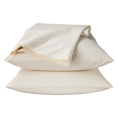 Threshold™ Percale Sheet Set - Shell (Queen)