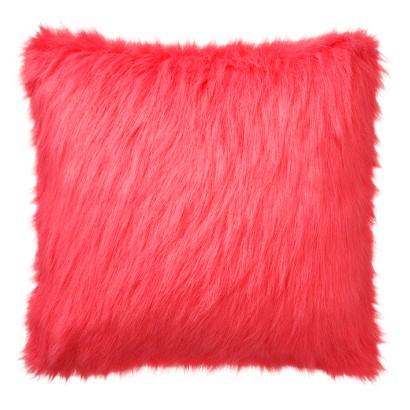 Xhilaration faux fur decorative pillow target Xhilaration home decor