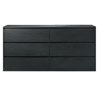 Tvilum 6 Drawer Dresser - Black - Room Essentials™