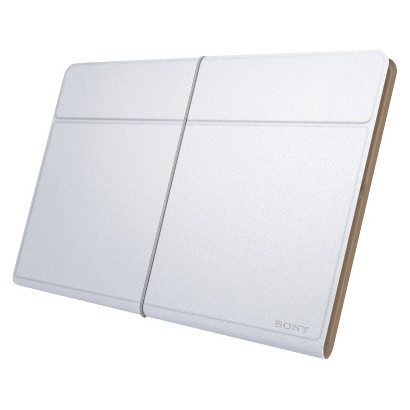 "Sony Leather Cover for 8.38"" Xperia™ Tablet Z - White (SGPCV5/W)"