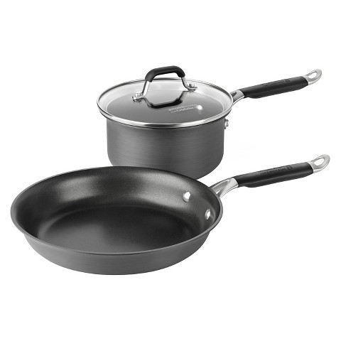 Calphalon Kitchen Essentials Hard Anodized Cookware Set